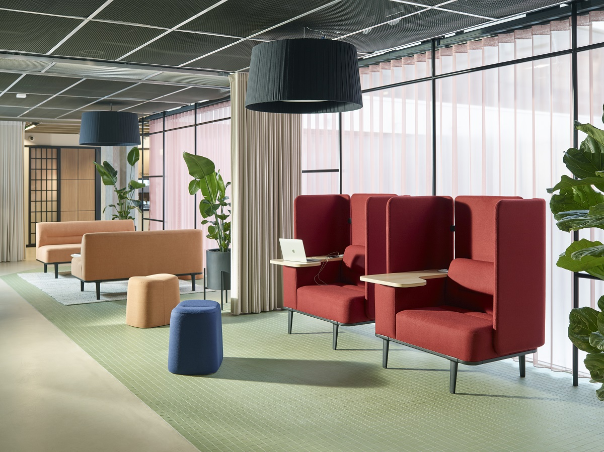 Inspirations for drop-in offices