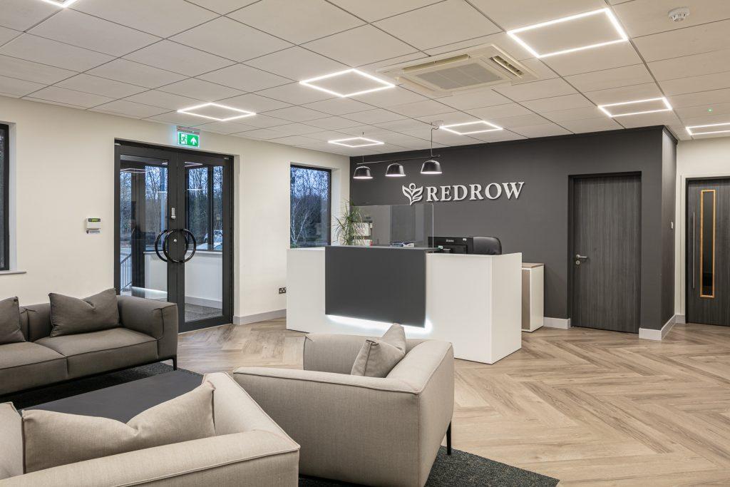 Grey neutral office colour scheme