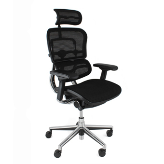 mesh ergonomic chair with head rest